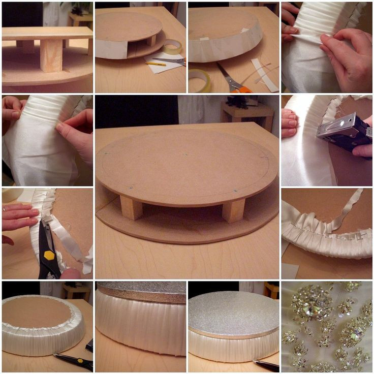 Best ideas about DIY Wedding Cake Stands . Save or Pin DIY Wedding Cake Stand Wedding and Bridal Inspiration Now.