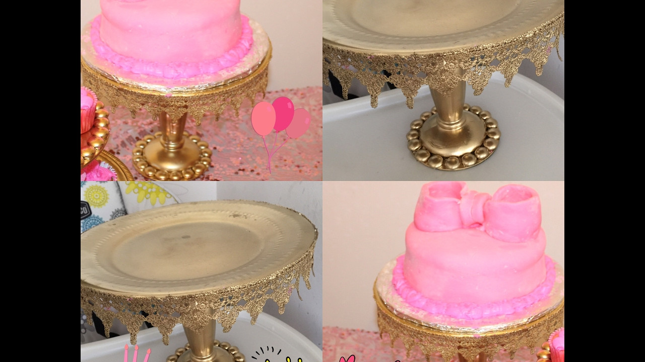 Best ideas about DIY Wedding Cake Stands . Save or Pin DIY dollar tree wedding Cake Stand Now.