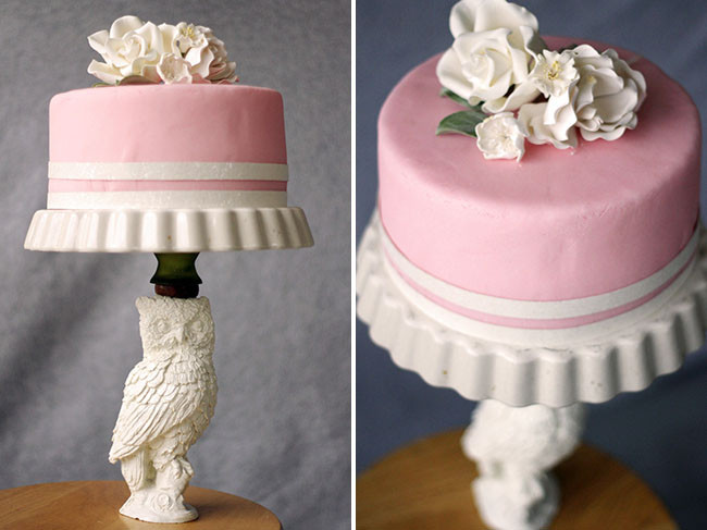 Best ideas about DIY Wedding Cake Stands . Save or Pin DIY Cake Stand Green Wedding Shoes Now.