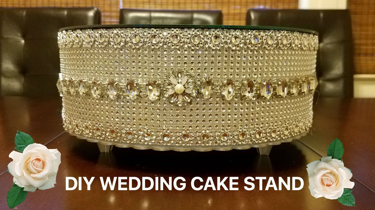 Best ideas about DIY Wedding Cake Stands . Save or Pin DIY Wedding Cake stand Now.