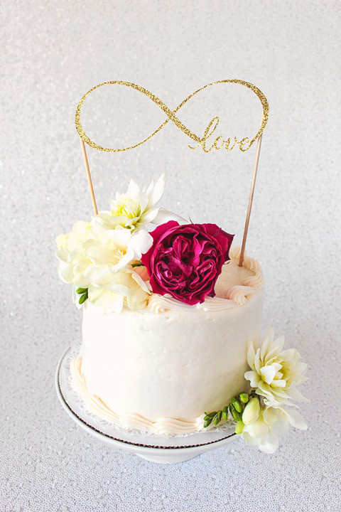 Best ideas about DIY Wedding Cake Topper . Save or Pin DIY Cake Topper Tutorial with Cricut Now.