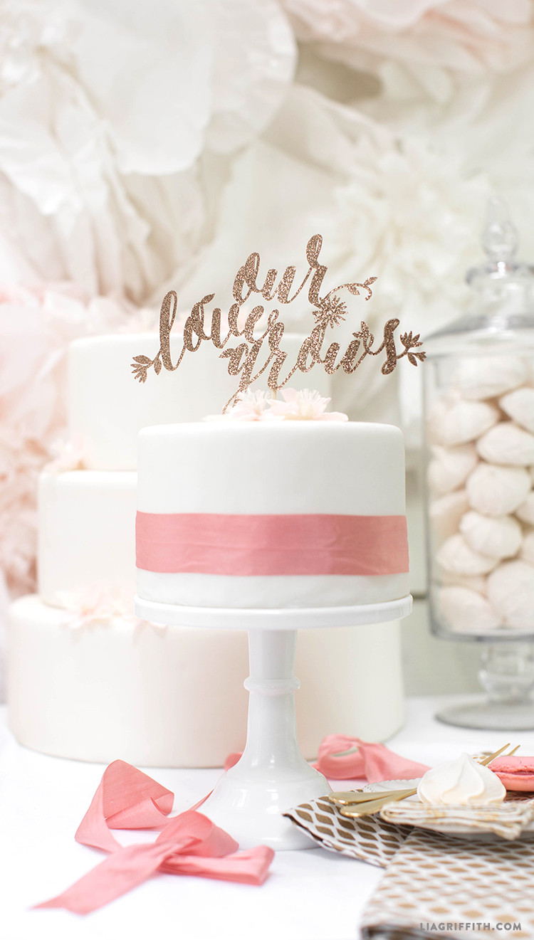 Best ideas about DIY Wedding Cake Topper . Save or Pin Discover our best wedding SVG cut files Now.