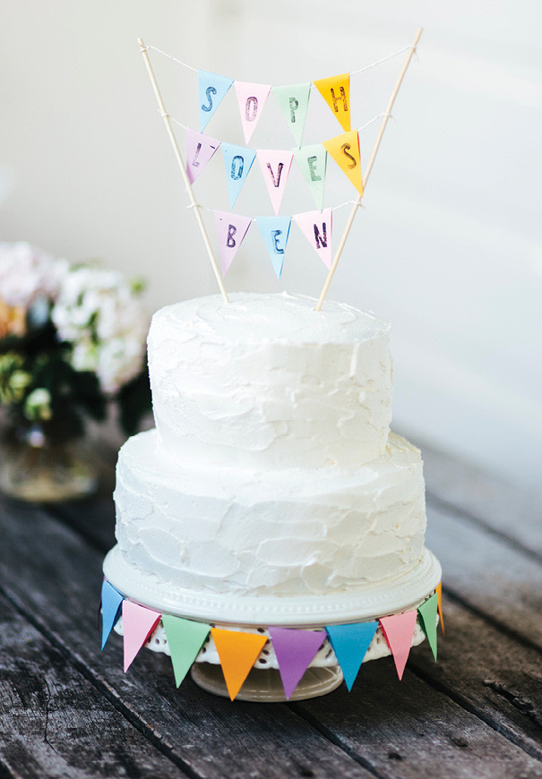 Best ideas about DIY Wedding Cake Topper . Save or Pin Hello May · DIY WEDDING CAKE TOPPER Now.