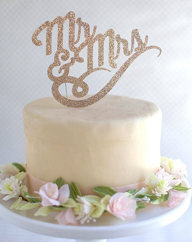 Best ideas about DIY Wedding Cake Topper . Save or Pin Beyond Candles 21 DIY Cake Toppers That Steal the Show Now.