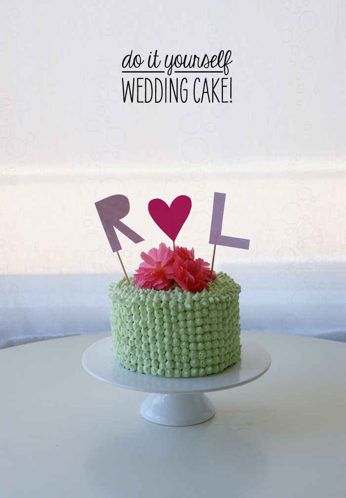 Best ideas about DIY Wedding Cakes . Save or Pin Do it Yourself Wedding Cake Now.