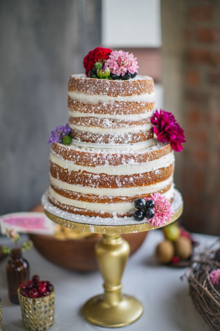 Best ideas about DIY Wedding Cakes . Save or Pin 25 Best Ideas about Homemade Wedding Cakes on Pinterest Now.