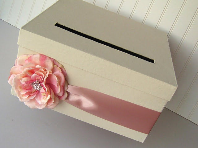 Best ideas about DIY Wedding Card Box Instructions . Save or Pin DIY Wedding Card Box Kit to make your own wedding card Now.