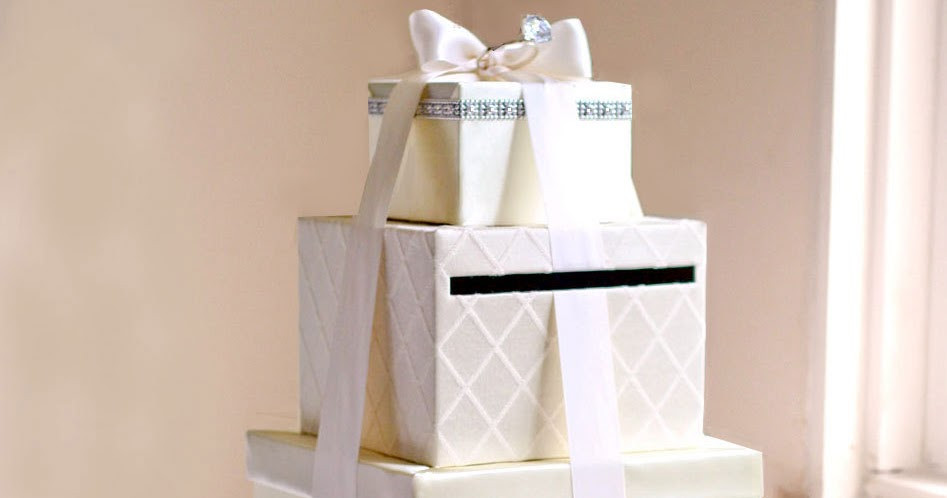 Best ideas about DIY Wedding Card Box Instructions . Save or Pin DIY Wedding Card Box Tutorial Andrea Lynn HANDMADE Now.