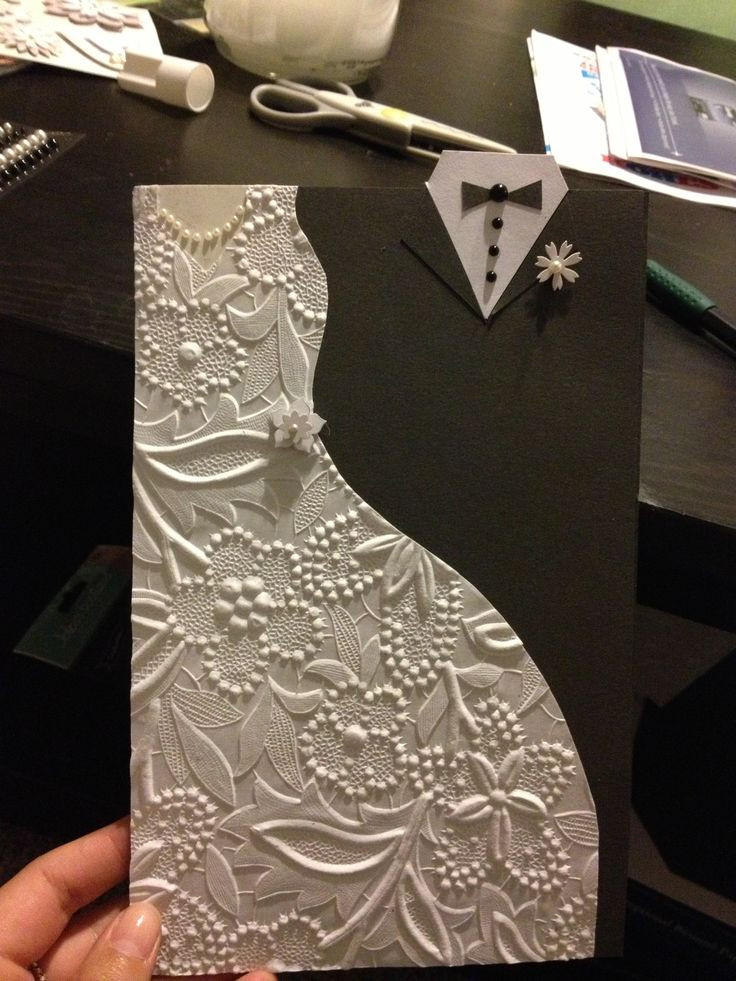 Best ideas about DIY Wedding Cards . Save or Pin Wedding card crafts diy cards cards Now.