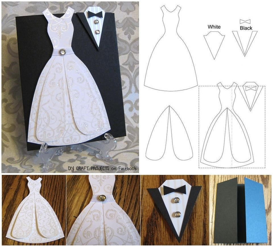 Best ideas about DIY Wedding Cards . Save or Pin Wedding Printable Craft s and for Now.