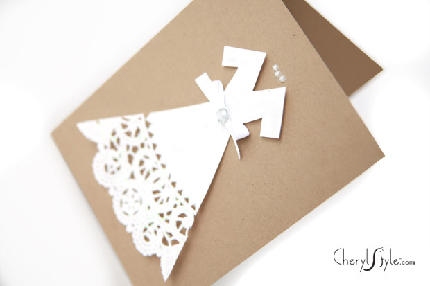 Best ideas about DIY Wedding Cards . Save or Pin DIY wedding cards Everyday Dishes Now.