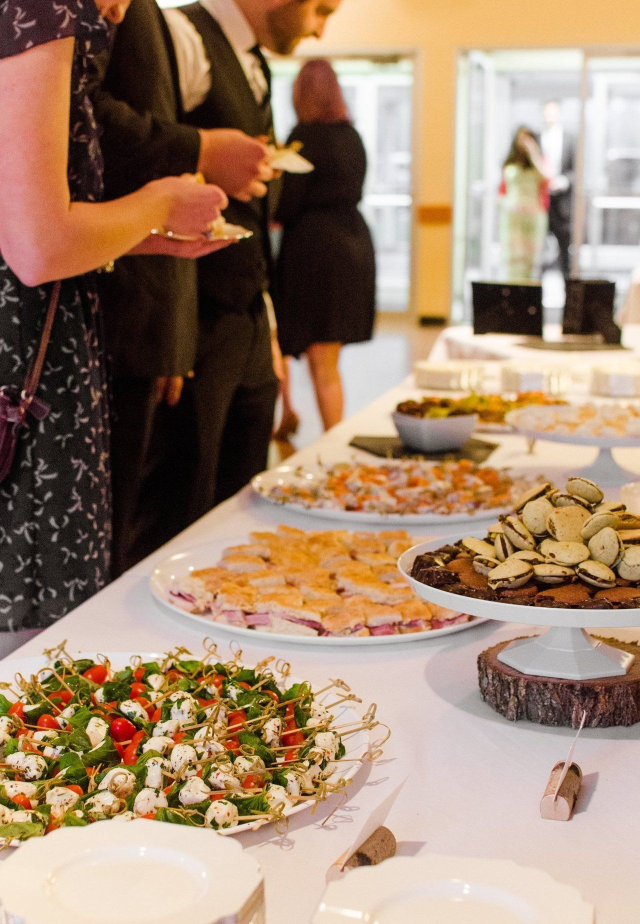 Best ideas about DIY Wedding Catering . Save or Pin A DIY Wedding Reception for 200 Food Appetizers Now.