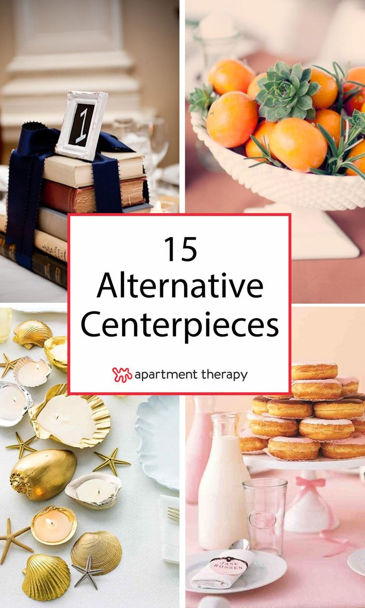 Best ideas about DIY Wedding Centerpieces Without Flowers . Save or Pin 17 Best ideas about Non Floral Centerpieces on Pinterest Now.