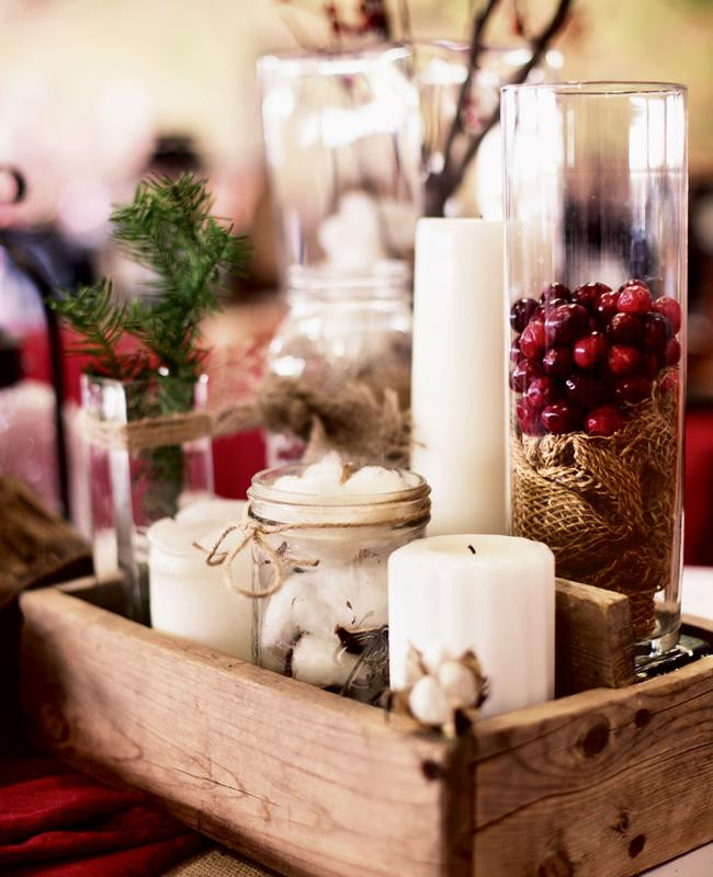 Best ideas about DIY Wedding Centerpieces Without Flowers . Save or Pin 10 Pretty Centerpieces Without A Flower In Sight Now.