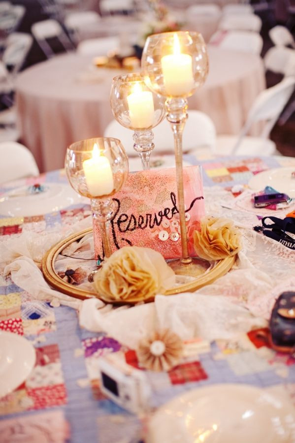 Best ideas about DIY Wedding Centerpieces Without Flowers . Save or Pin 1000 images about Alternative Centerpieces on Pinterest Now.
