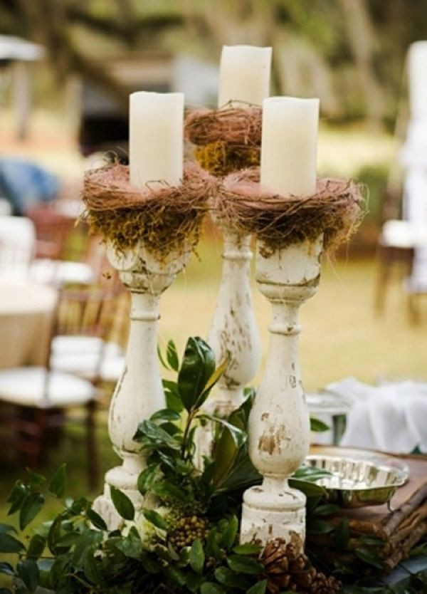 Best ideas about DIY Wedding Centerpieces Without Flowers . Save or Pin Best 25 Candlestick centerpiece ideas on Pinterest Now.