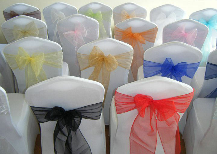 Best ideas about DIY Wedding Chair Covers . Save or Pin CHAIR COVER SASHES BOWS ORGANZA NEW UK FOR WEDDINGS BEST Now.