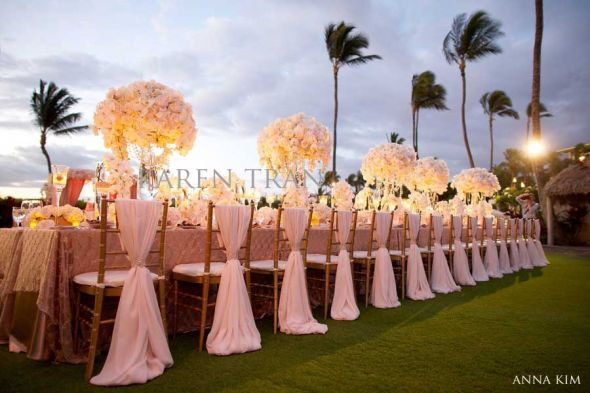 Best ideas about DIY Wedding Chair Covers . Save or Pin DIY Gold and White Chiavari Chair Covers for Vintage Glam Now.