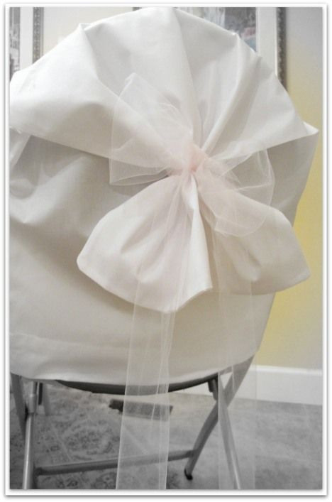 Best ideas about DIY Wedding Chair Covers . Save or Pin 17 Best ideas about Folding Chair Covers on Pinterest Now.