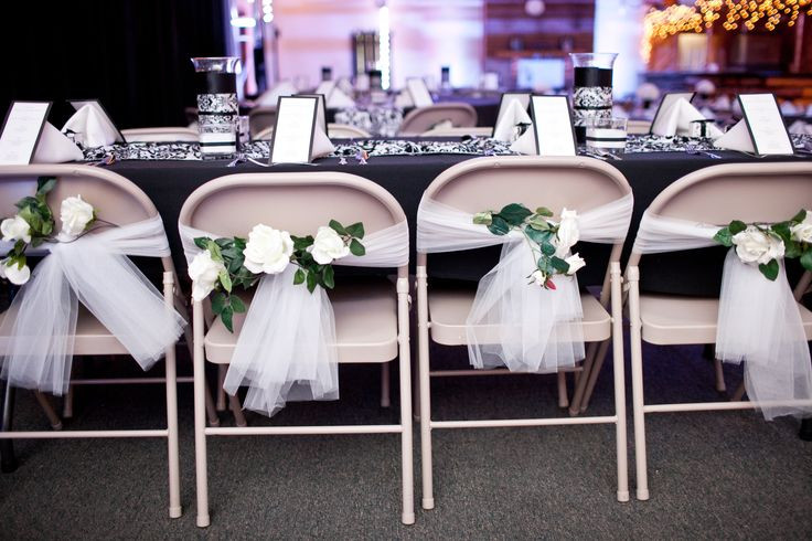 Best ideas about DIY Wedding Chair Covers . Save or Pin Do It Yourself Wedding Chair Decorations Now.