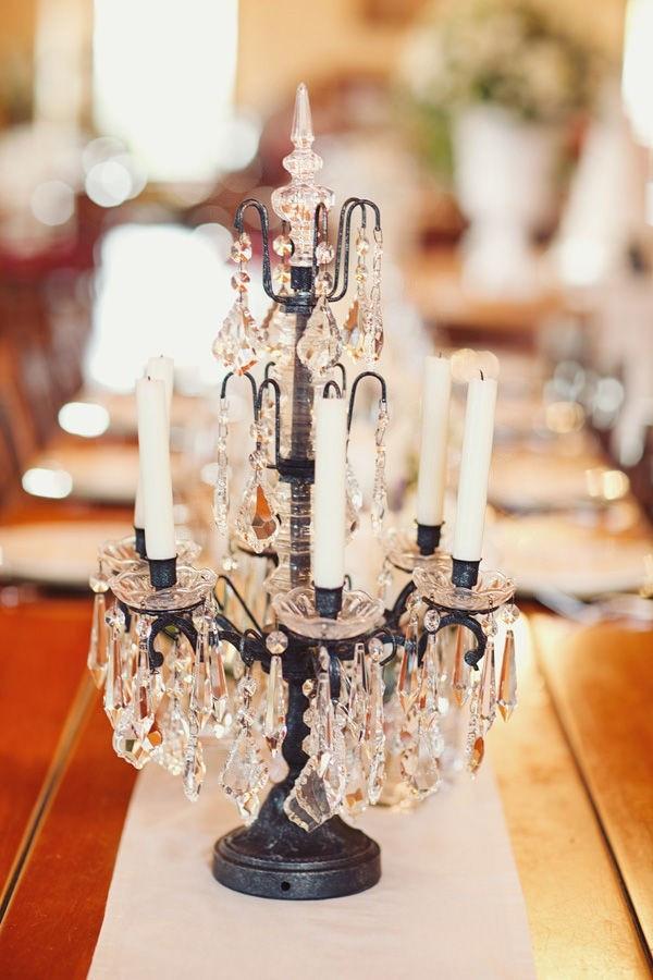 Best ideas about DIY Wedding Chandelier . Save or Pin diy Wedding Crafts Chandelier Candle Centerpiece Now.