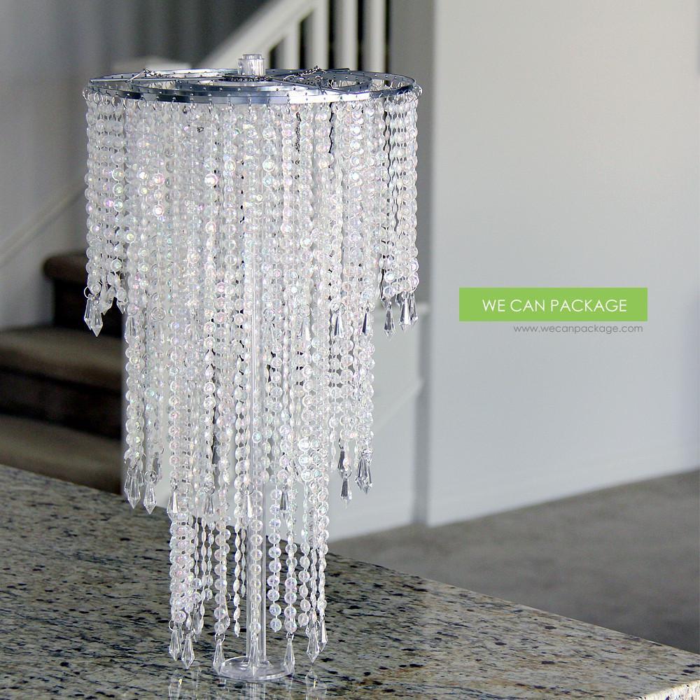 Best ideas about DIY Wedding Chandelier . Save or Pin DIY Chandelier Wedding Centerpiece Ideas Now.