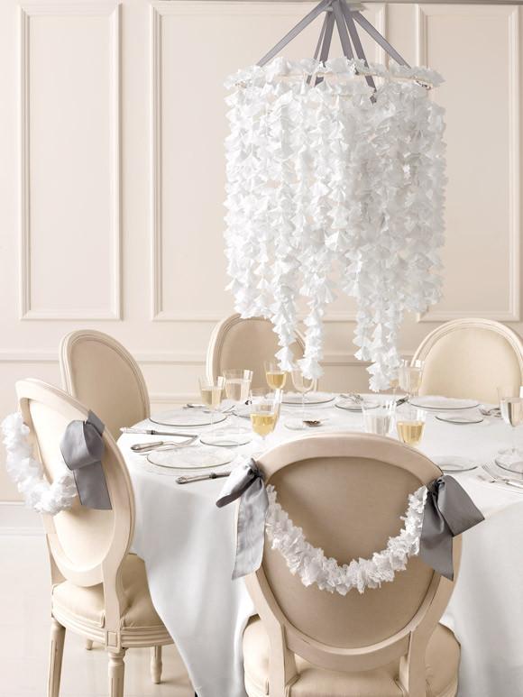 Best ideas about DIY Wedding Chandelier . Save or Pin DIY Paper Doily Craft Ideas from Martha Stewart Weddings Now.