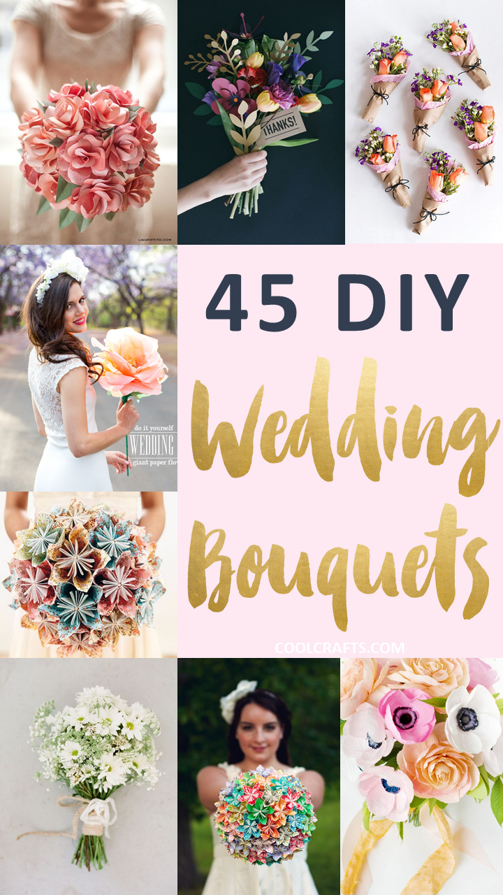 Best ideas about DIY Wedding Crafts . Save or Pin 45 Stunning Wedding Bouquets You Can Craft Yourself • Cool Now.