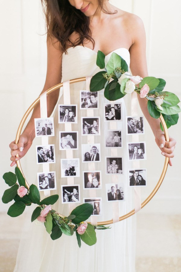 Best ideas about DIY Wedding Crafts . Save or Pin diy Wedding Crafts Hanging Floral Hoop • DIY Now.