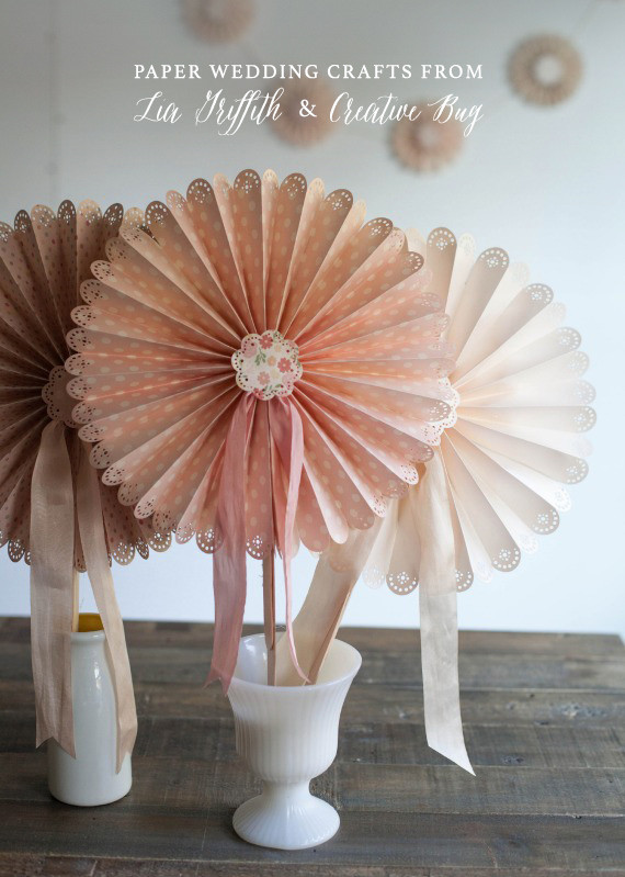 Best ideas about DIY Wedding Crafts . Save or Pin DIY paper craft classes Creative Bug Now.