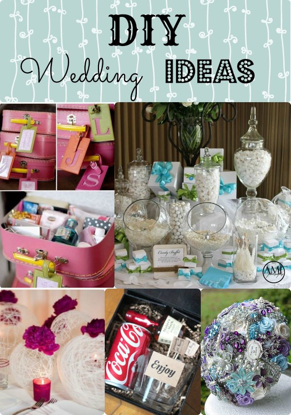 Best ideas about DIY Wedding Crafts . Save or Pin DIY Wedding Ideas Keep your bud under control with Now.