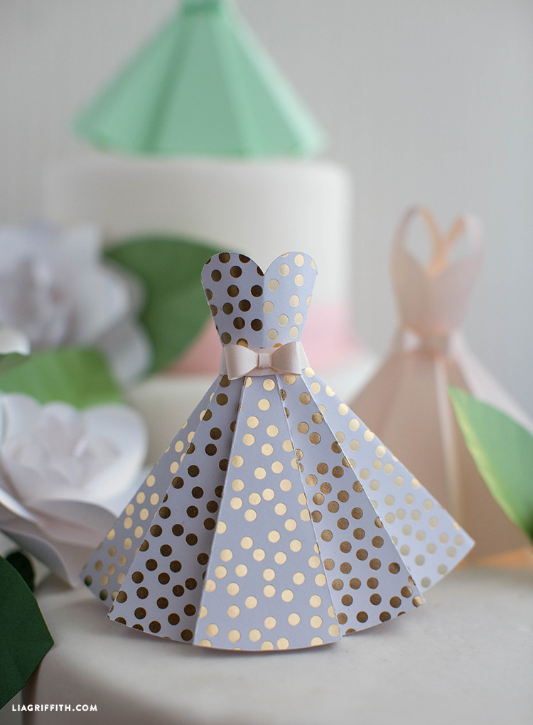 Best ideas about DIY Wedding Crafts . Save or Pin Paper Dress DIY Wedding Decorations Lia Griffith Now.
