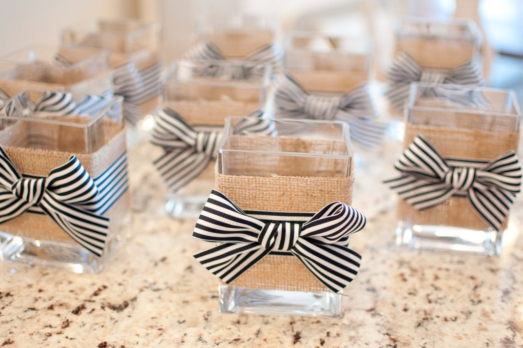 Best ideas about DIY Wedding Crafts . Save or Pin diy Wedding Crafts Nautical Burlap Glass Vases • DIY Now.