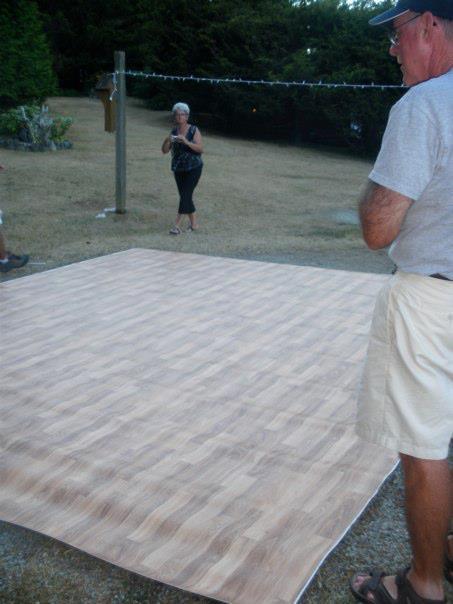 Best ideas about DIY Wedding Dance Floor . Save or Pin DIY dance floor Now.