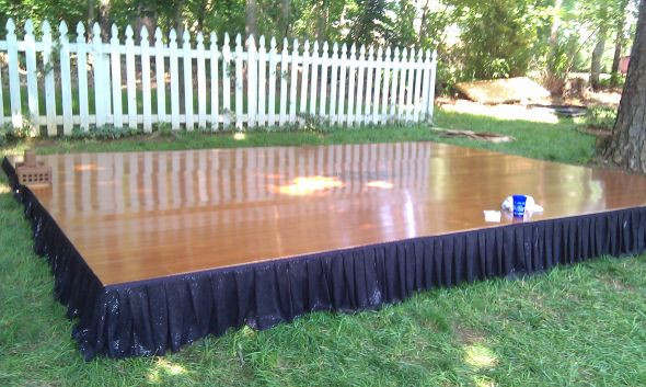 Best ideas about DIY Wedding Dance Floor . Save or Pin The Most Challenging DIY Project Ever My Dancefloor Now.