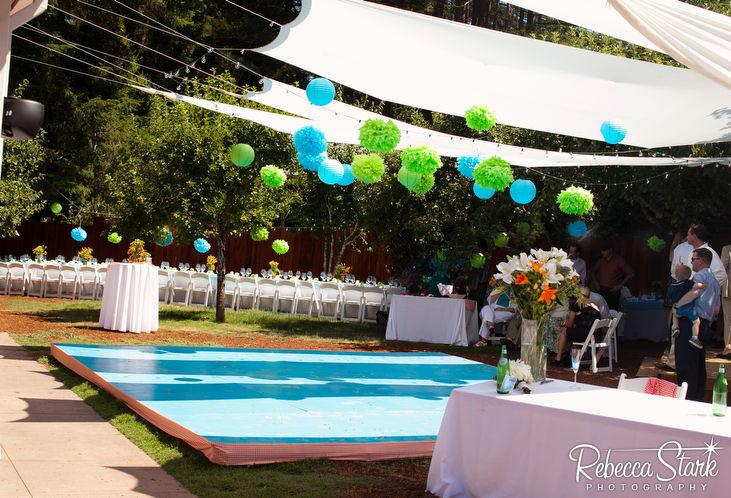 Best ideas about DIY Wedding Dance Floor . Save or Pin DIY ideas for a backyard wedding Rebecca Stark graphy Now.