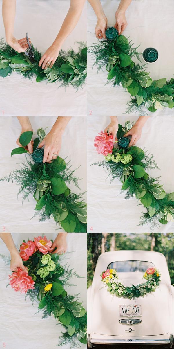 Best ideas about DIY Wedding Decor . Save or Pin DIY Wedding Getaway Garland ce Wed Now.