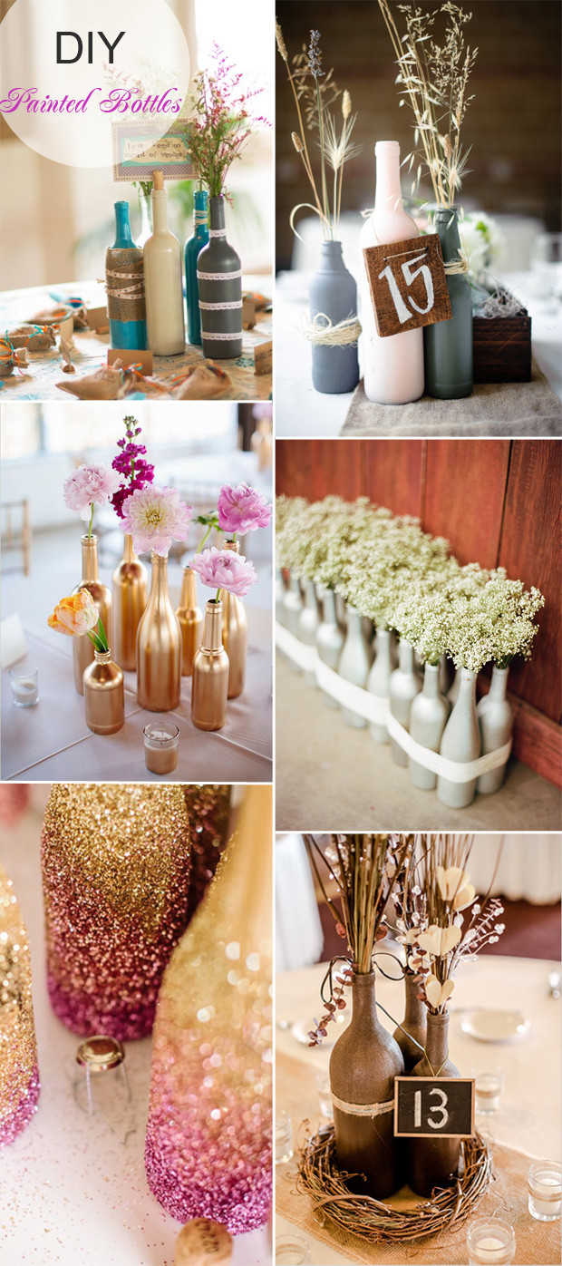 Best ideas about DIY Wedding Decor . Save or Pin 40 DIY Wedding Centerpieces Ideas for Your Reception Now.