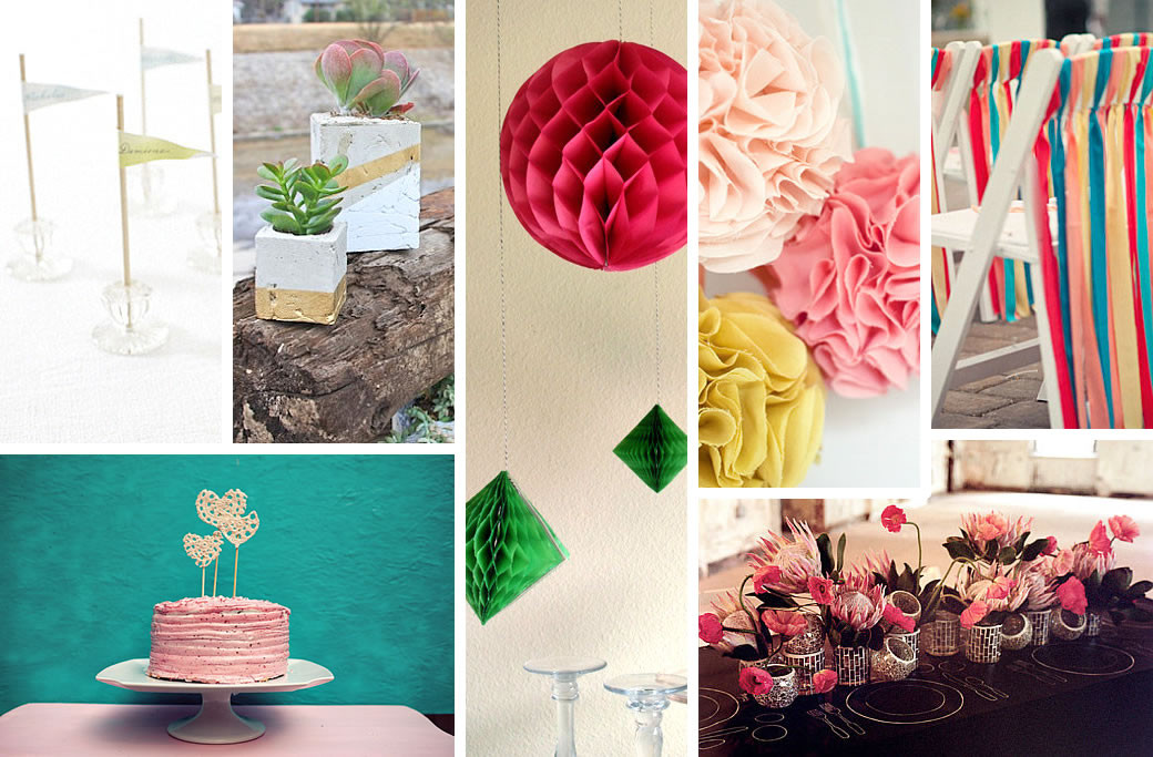 Best ideas about DIY Wedding Decor . Save or Pin DIY Wedding Decorations for Spring Now.