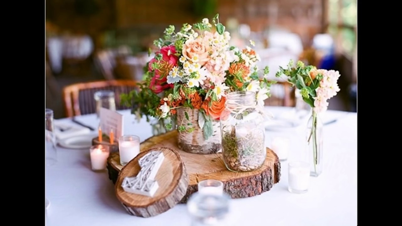 Best ideas about DIY Wedding Decor On A Budget . Save or Pin Easy Diy ideas for rustic wedding decorations Now.