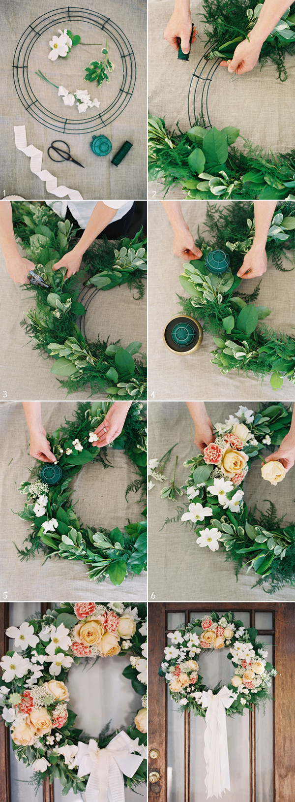Best ideas about DIY Wedding Decorations . Save or Pin DIY Wedding Wreath ce Wed Now.