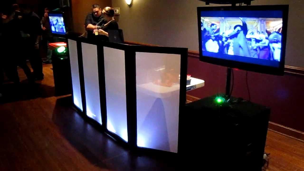 Best ideas about DIY Wedding Dj . Save or Pin DIY DJ Facade L E D Part 4 Setup Weddings Private Parties Now.