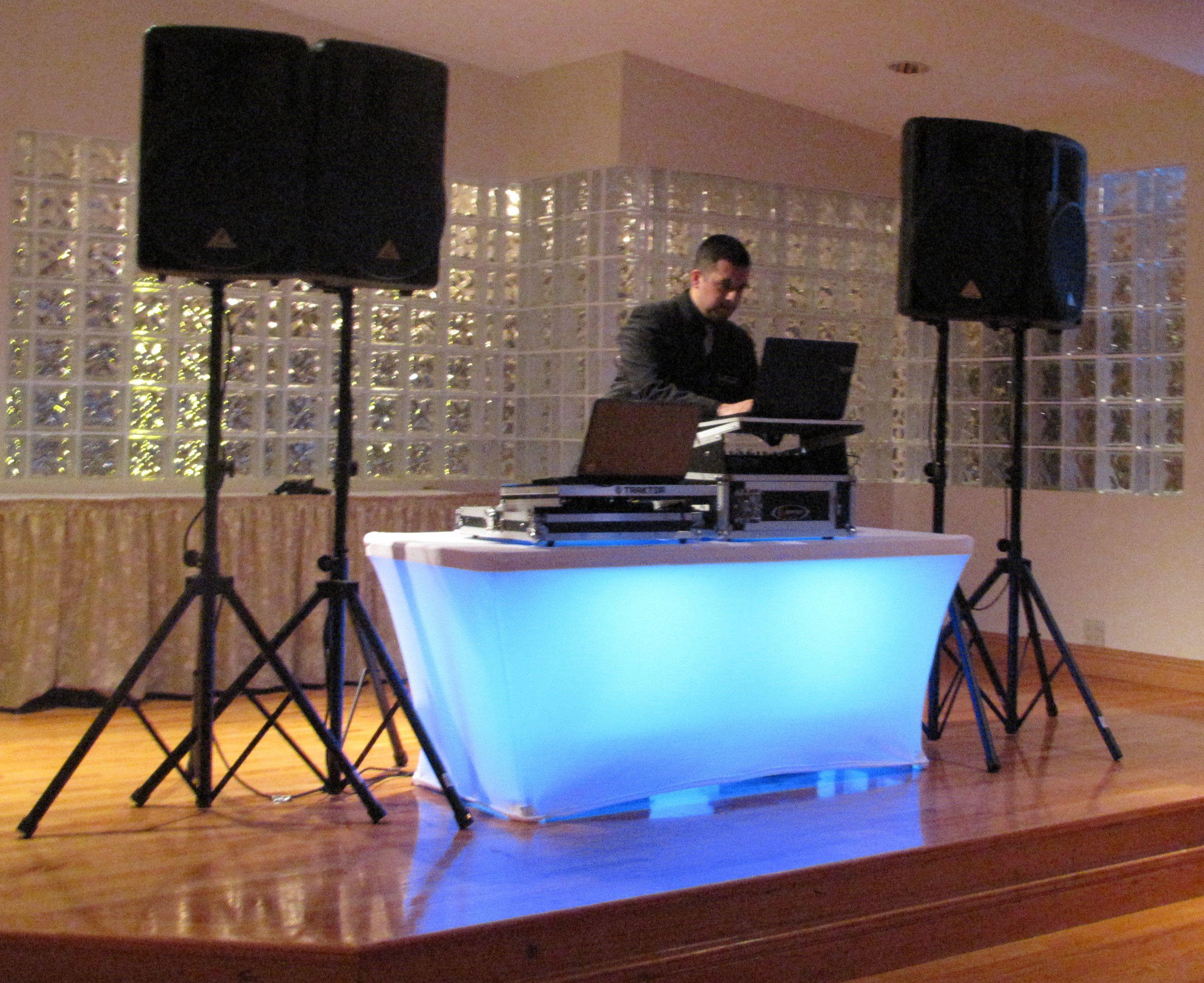 Best ideas about DIY Wedding Dj . Save or Pin DJ booth lighting Illuminated Furniture Now.