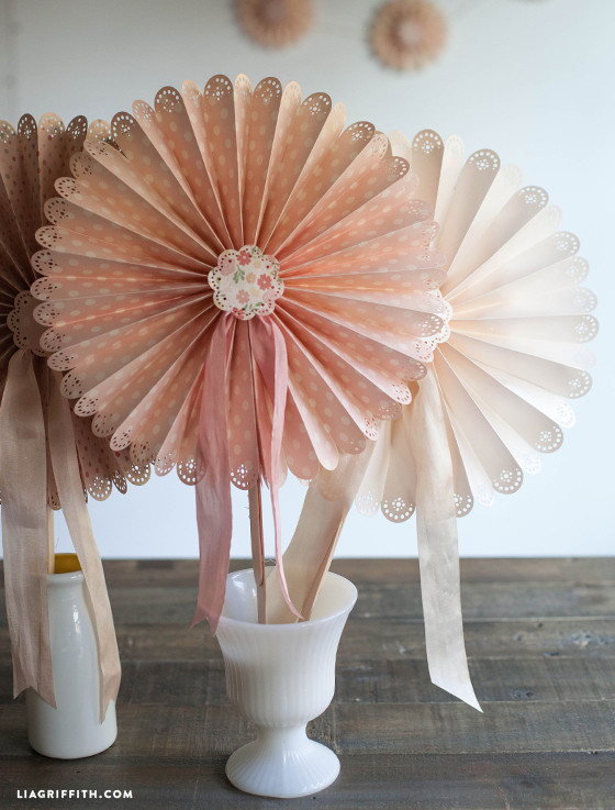Best ideas about DIY Wedding Fans . Save or Pin DIY Paper Fans for Your Wedding or Summer Event Now.