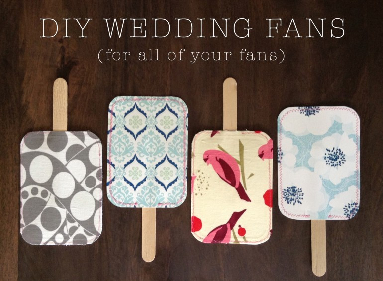 Best ideas about DIY Wedding Fans . Save or Pin DIY Wedding Fans Now.