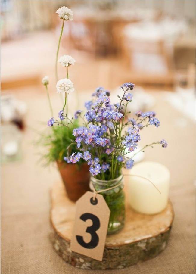 Best ideas about DIY Wedding Floral Centerpieces . Save or Pin Simple DIY Wedding Centerpiece Ideas Now.