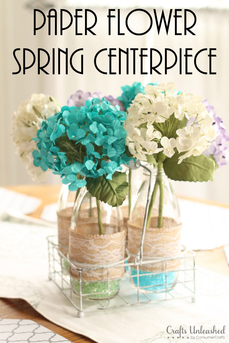 Best ideas about DIY Wedding Floral Centerpieces . Save or Pin DIY Centerpieces Spring Floral Vases Crafts Unleashed Now.