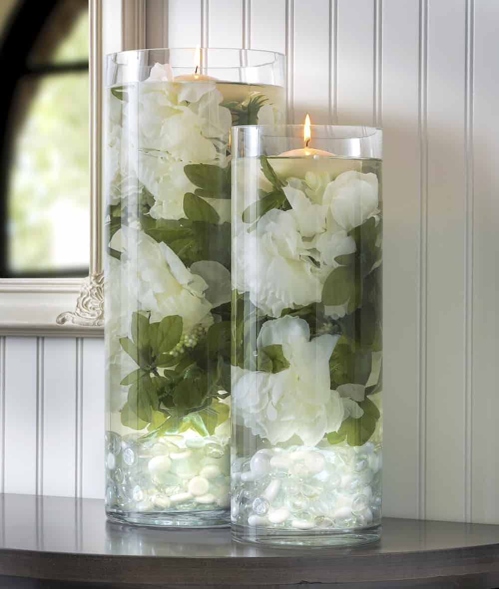 Best ideas about DIY Wedding Floral Centerpieces . Save or Pin Glowing Floral DIY Wedding Centerpieces DIY Candy Now.