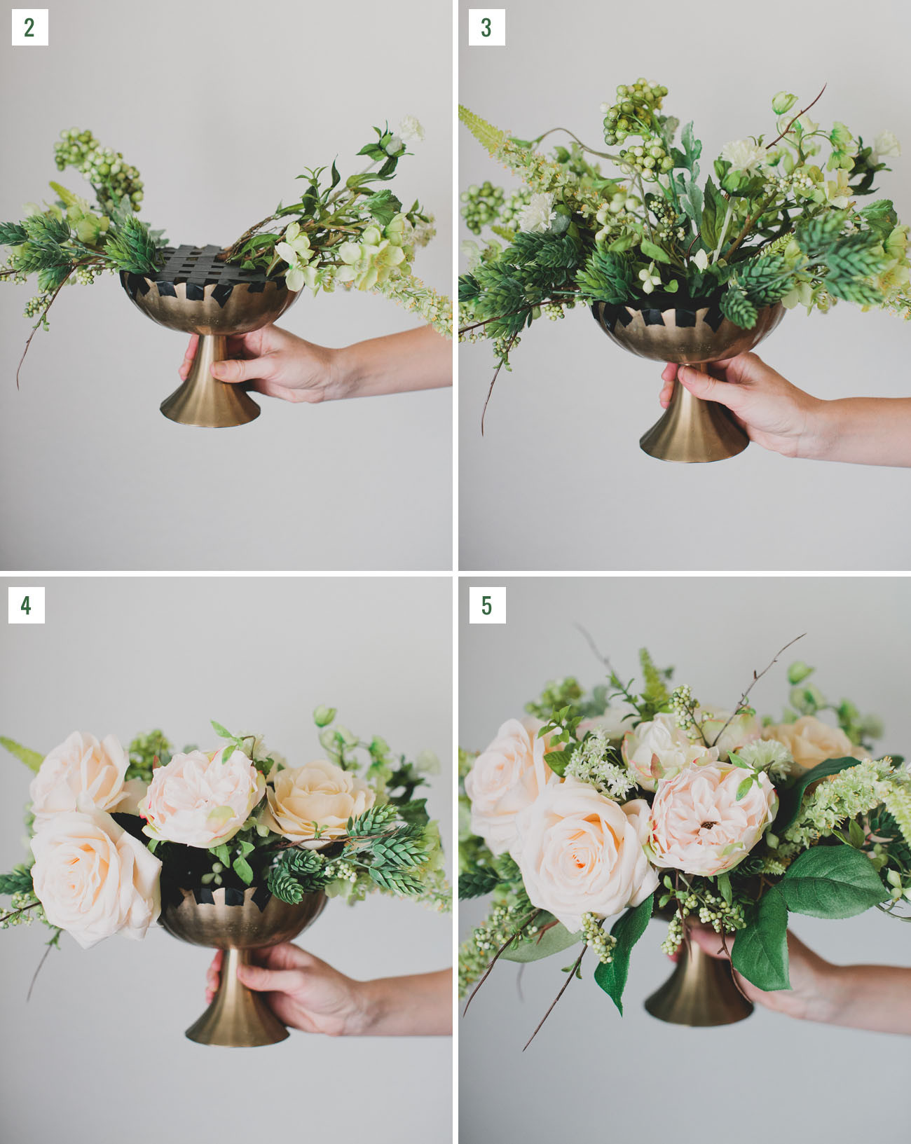 Best ideas about DIY Wedding Flowers Wholesale . Save or Pin DIY Silk Flower Centerpiece Green Wedding Shoes Now.