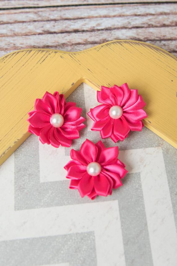 Best ideas about DIY Wedding Flowers Wholesale . Save or Pin Hot pink flower supplies DIY headband wholesale fabric Now.